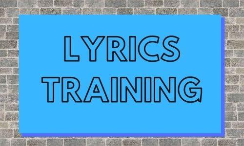 Lyrics Training