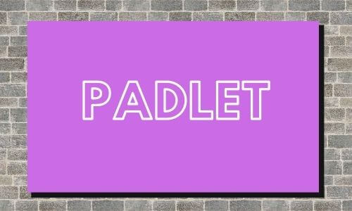 Padlet ideas for English class
