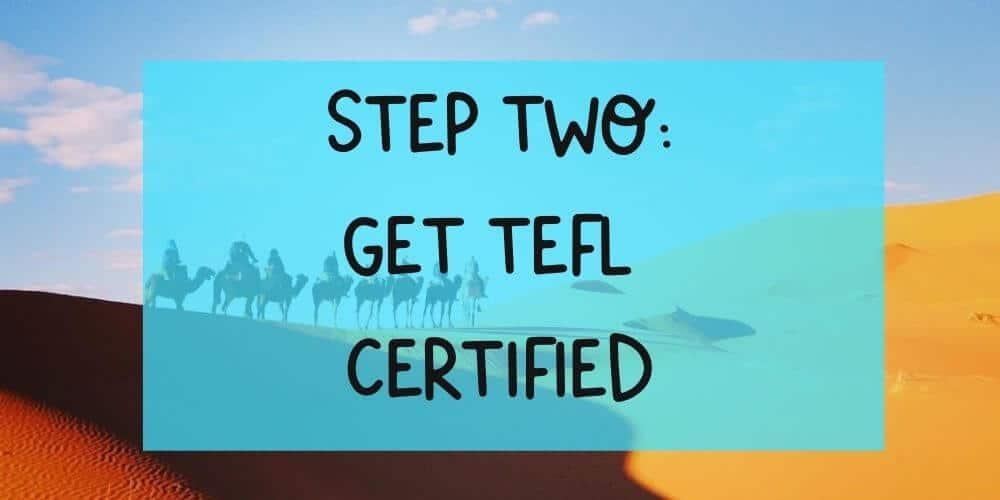 Get TEFL certified to start teaching English abroad