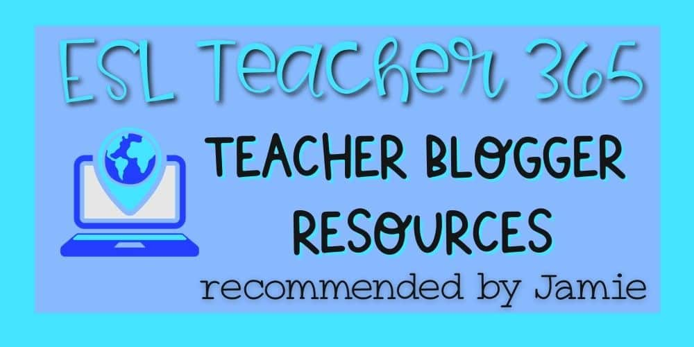 Teacher Blogger Resources
