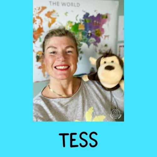 Whales English teacher Tess