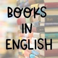Bring books in English when teaching abroad
