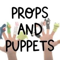 Bring puppets and props when teaching abroad