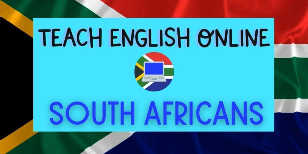 How to Teach English Online as a South African