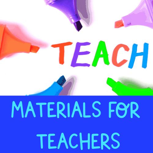 Materials for English Teachers